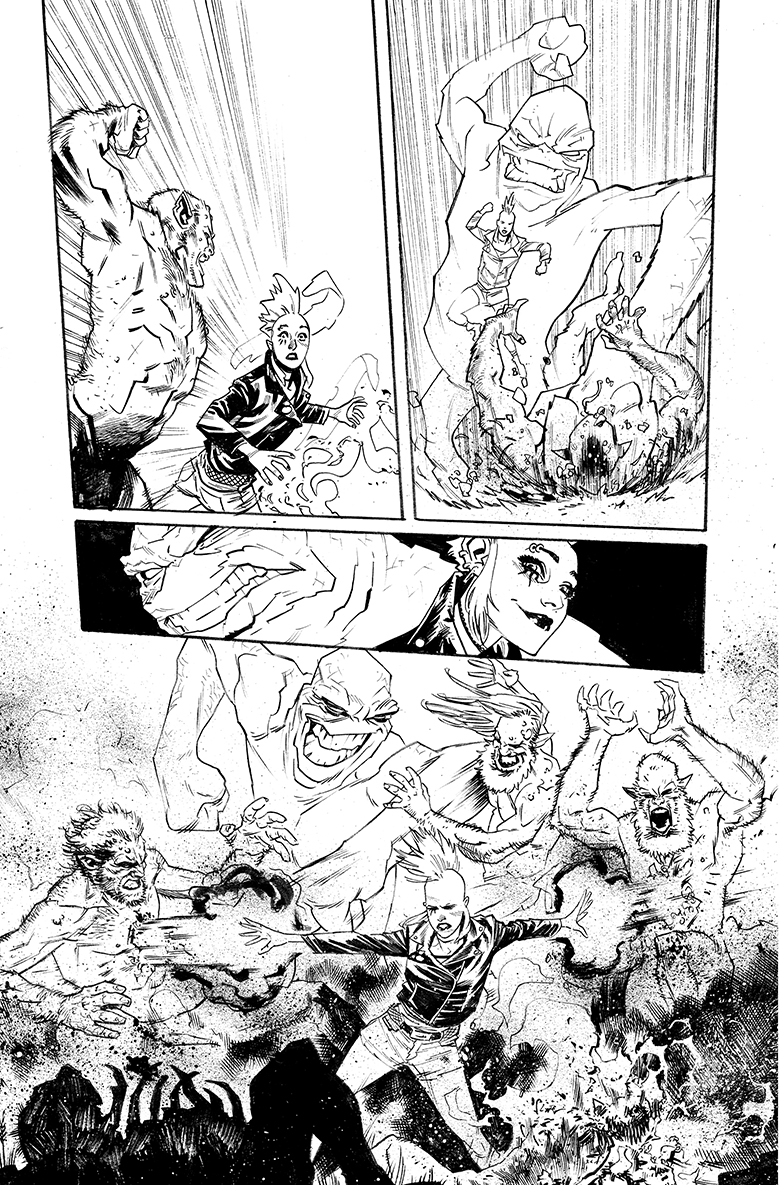 PUNK MAMBO #1 art by Adam Gorham