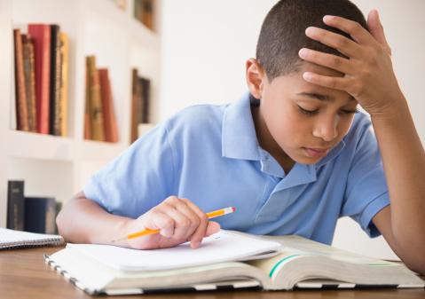 Jadwal Terlalu Padat, Anak Bisa Terkena Depresi