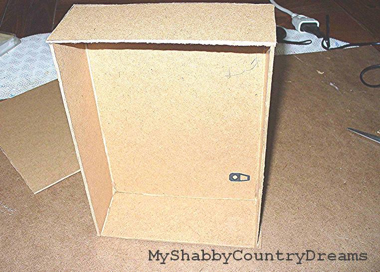 Myshabbycountrydreams mobili per le bambole fai da te for Mobili harry potter