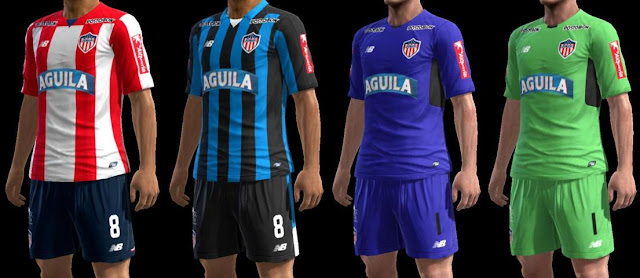 PES 2013 Club Deportivo Popular Junior F.C. S.A. 2017 Kit
