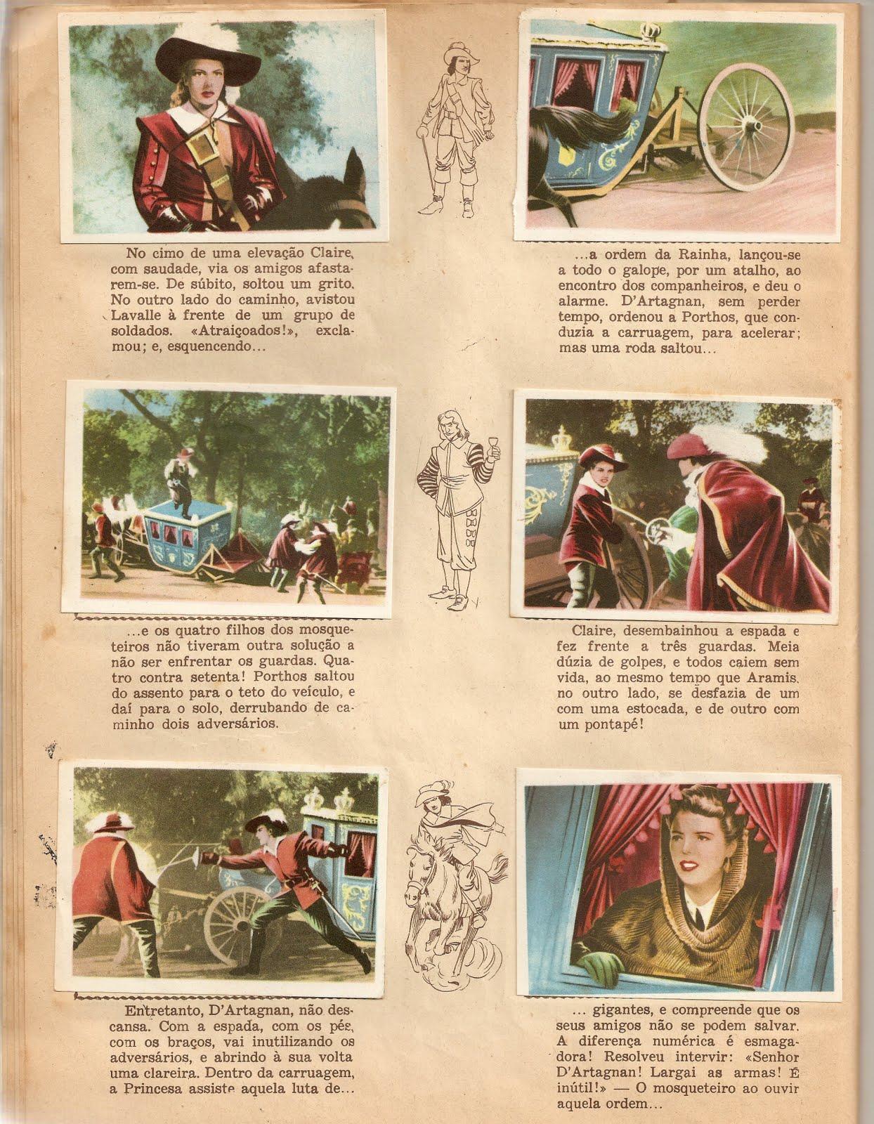 1c0faec757220 Era num tempo de predomínio dos chamados filmes de capa e espada, depois  veio o Tarzan - início dos anos 50 do século passado.