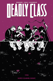 Deadly Class tom 2 okładka