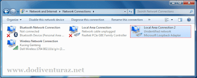 Tutorial Cara Install Loopback Adapter di Windows 7