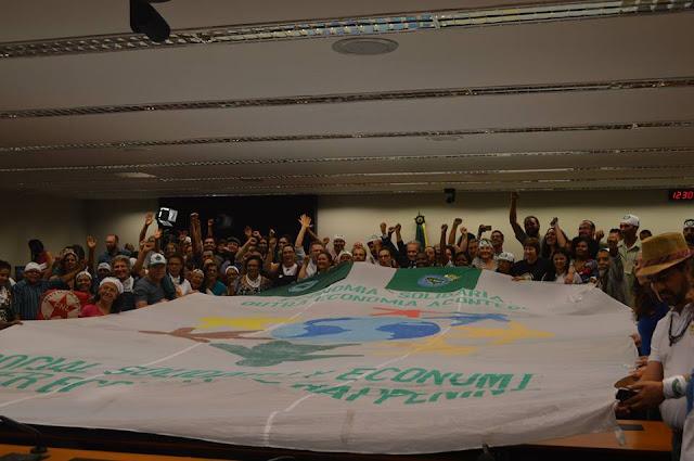 REPRESENTANTE DA AAPCI PARTICIPA DO 6o INTERCÂMBIO ENTRE PONTOS FIXOS DA REDE BRASILEIRA DE COMERCIALIZAÇÃO SOLIDÁRIA
