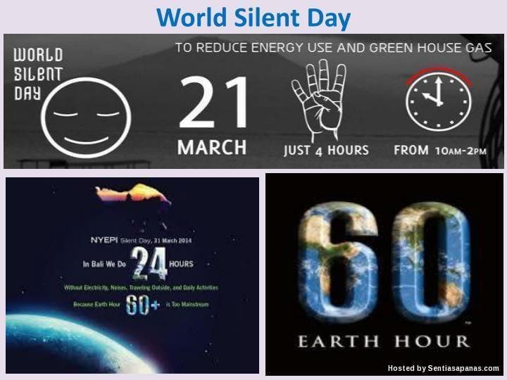 Sambutan Hari Senyap Sedunia, World Silent Day
