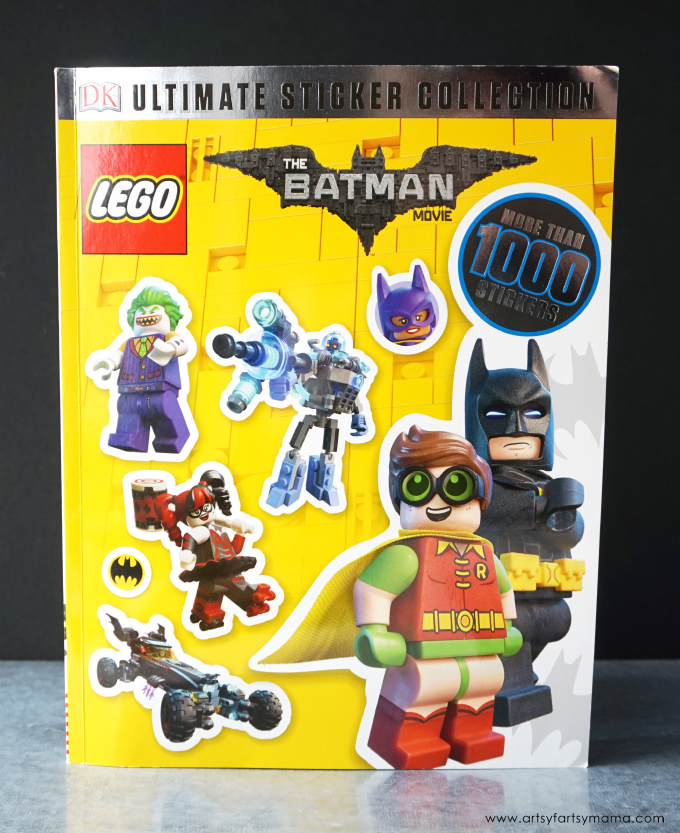 Encourage reading with The LEGO® Batman™ Movie books and Free Printable LEGO Batman Bookmarks