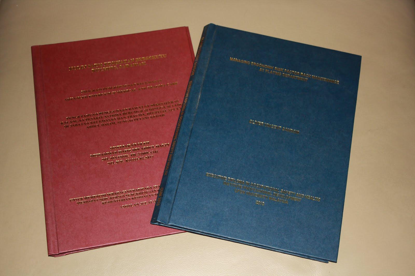 thesis binding kuching