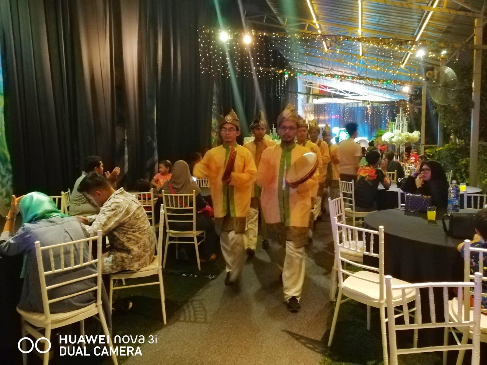 Majlis Berkonsepkan Taman Di H Garden Cafe
