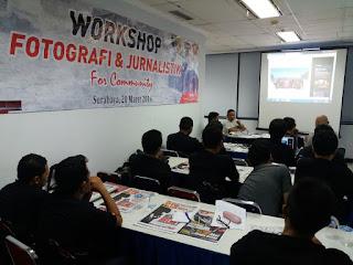 Blogger honda surabaya belajar jurnalistik dan fotografi bersama otoplus