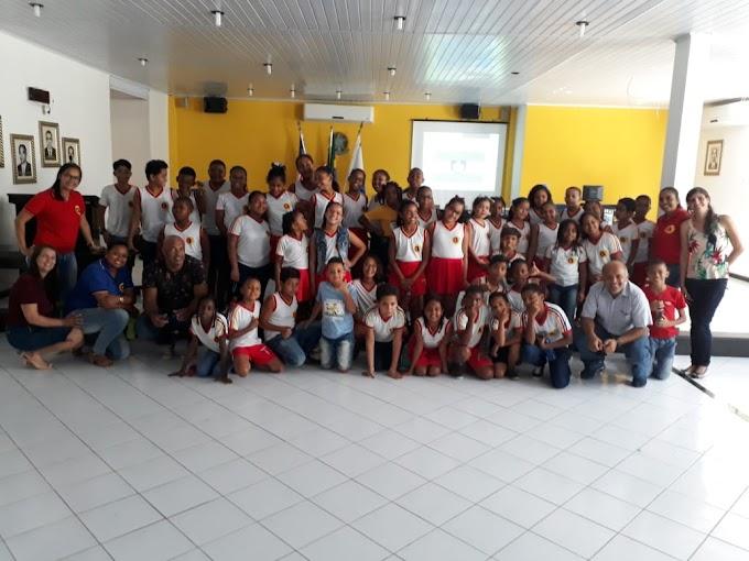 Palestra com os Alunos do Colégio Viana acerca da Emancipação Política do Município de Governador Mangabeira