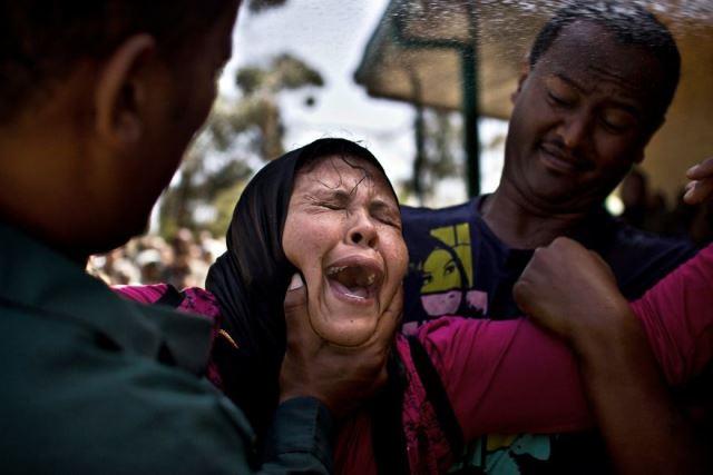 Así es un exorcismo en Etiopía.