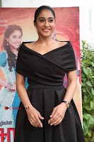 Actress Regina Candra Pos in Beautiful Black Short Dress at Saravanan Irukka Bayamaen Tamil Movie Press Meet  0028.jpg