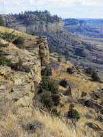 Rimrocks,Four Dances Natural Area, Billings, Montana