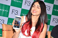 Bollywood Actress Adah Sharma Pos in White Printed Short Dress at OPPO F3 Plus Selfie Expert Mobile Launch .COM 0074.jpg