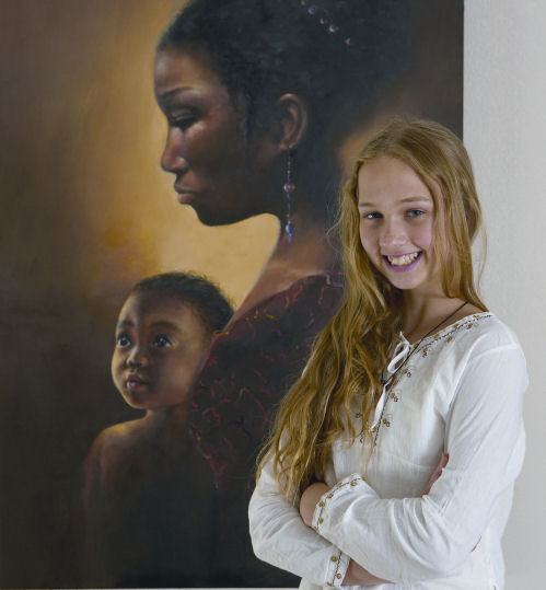 Anne Clay's Art And Soul: Artist Inspiration... Akiana