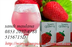gluberry drink untuk kesehatan dan tubuh