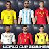 تحديث اطقم منتخبات كأس العالم 2018 لـ PES 2017