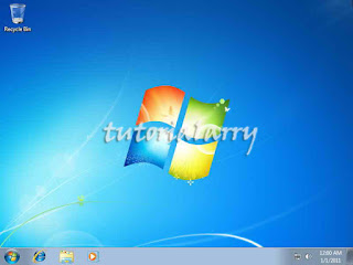 Instal Windows 7 Selesai
