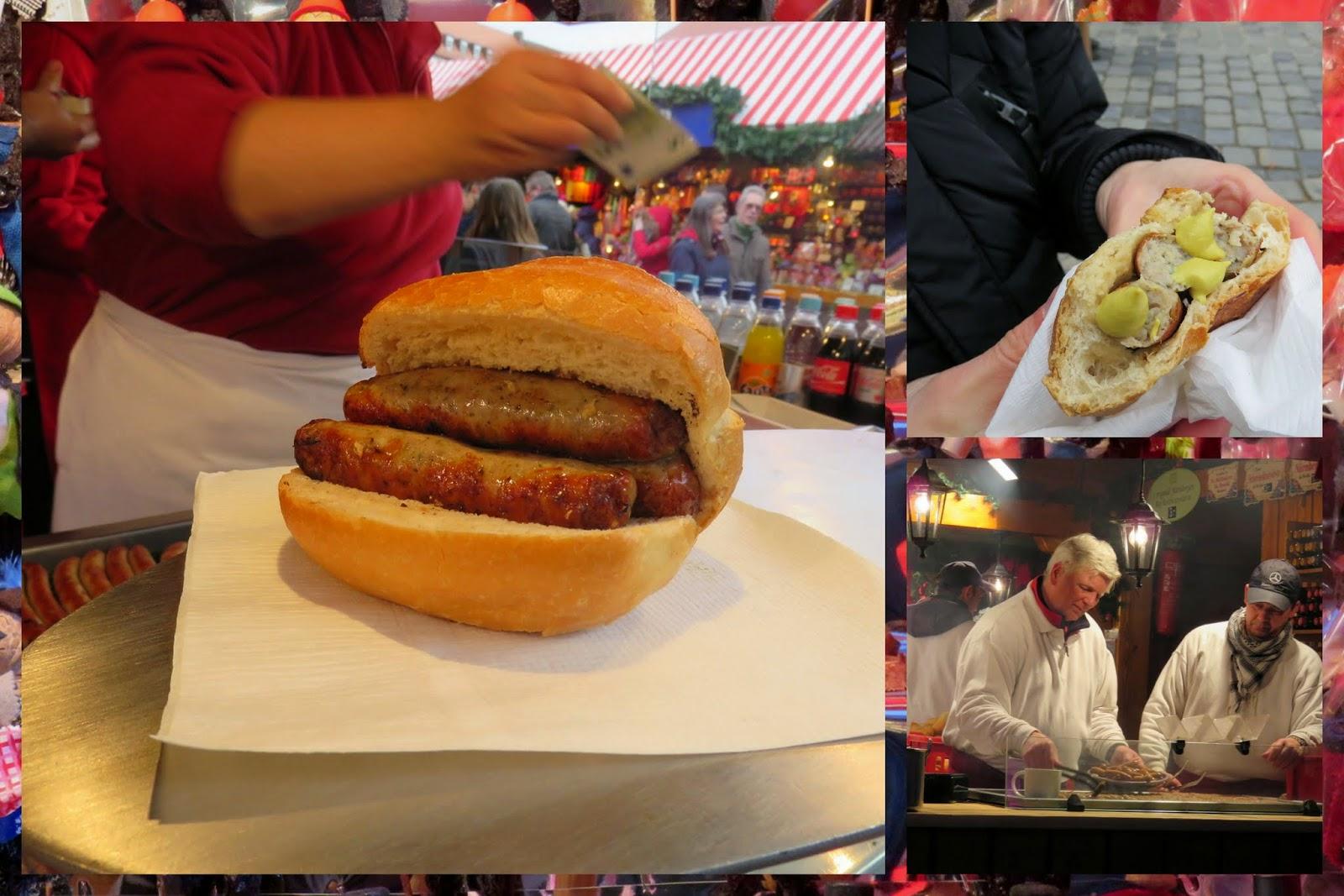 Nuremberg Christmas Market - Nuremberger Sausage