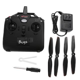 Spesifikasi Drone MJX Bugs 8 - OmahDrones