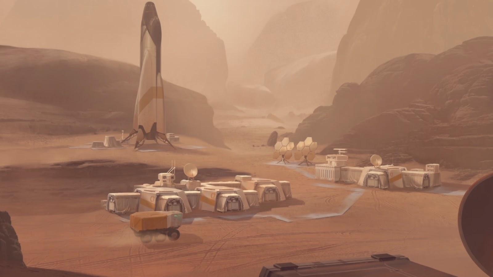 成功登陸火星