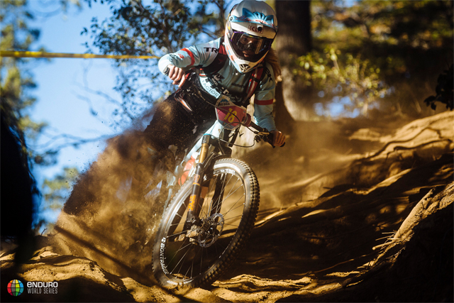 2016 Enduro World Series: Cerro Catedral, Argentina Day 2 Casey Brown