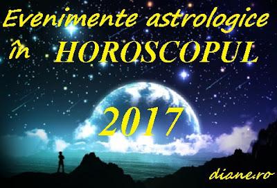 Evenimente astrale în horoscopul 2017