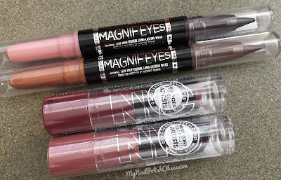 Rimmel London MagnifEyes & NYC New York Color Get It All Lip Color