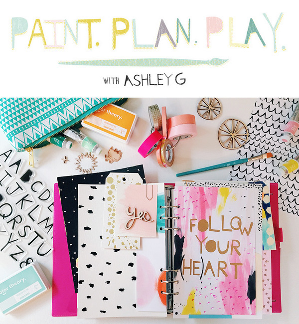 inspiration  - creativity - collages - paint - plan - play