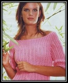 ajurnii pulover s otkritimi plechami