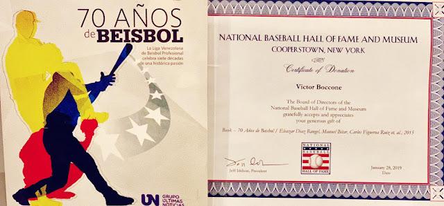 """Hablar de """"70 años de Beisbol"""" es hablar de una de las bibliografías más completas LVBP."""