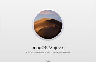 Downgrade MacOS jika di perlukan Komputer Mac MacBook Pro