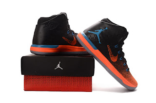 Jordan 31 black orange Sepatu Basket Premium,harga jordan 31 replika , jordan xxx1, jordan 31 black orange, replika ,import