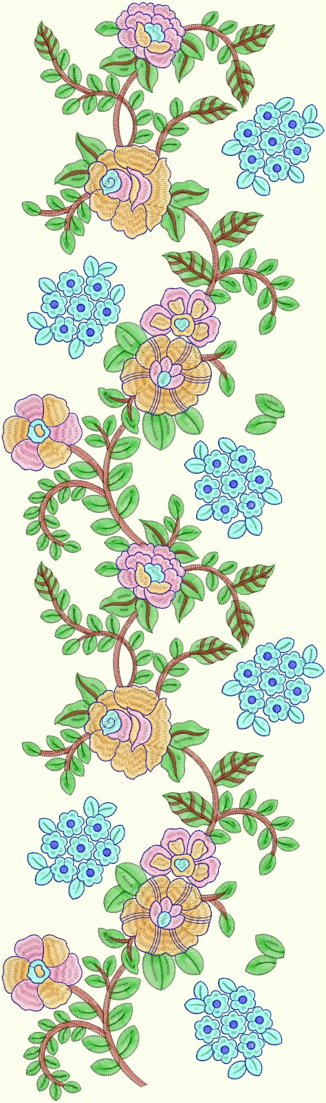 Embdesigntube Indian Tadka All Over Embroidery Designs