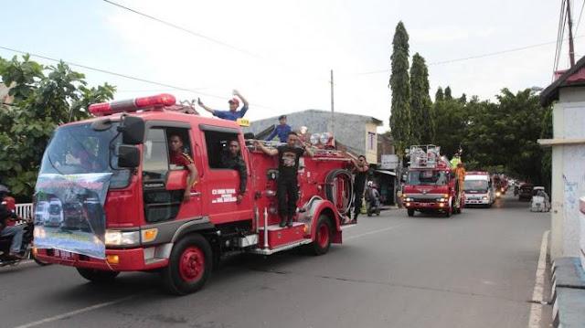 Abdya Beli Mobil Damkar Tiga Unit Rp 4,5 Miliar