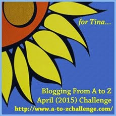 I'm taking part in the Blogging A to Z Challenge!
