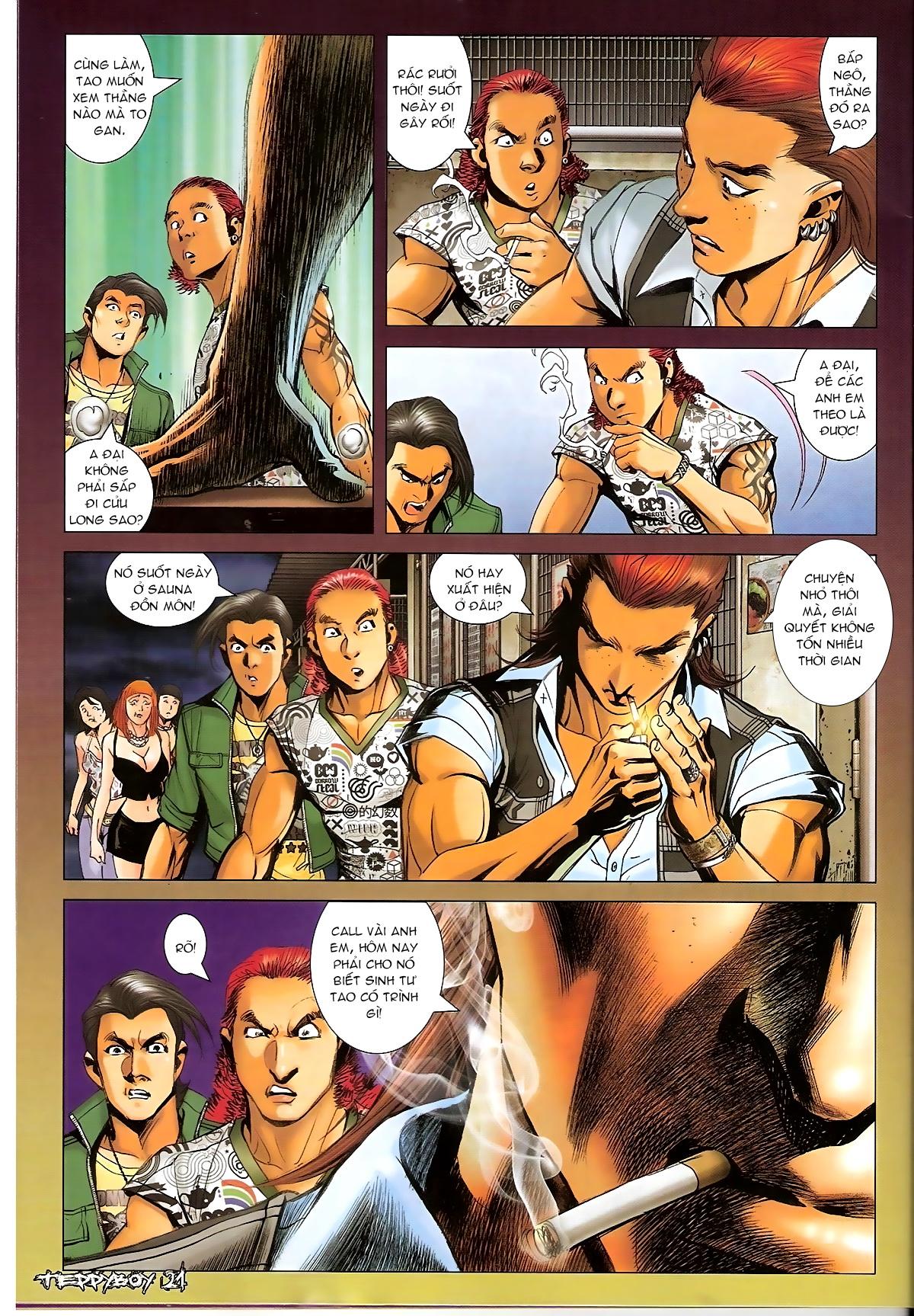 Người Trong Giang Hồ - Chapter 1319: Con trai Sinh Phiên - Pic 18