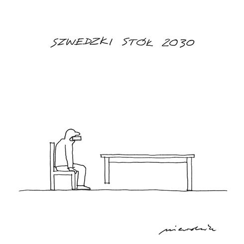 nr 0401: szwedzki stół