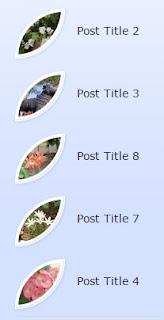 Popular Posts Widget for blogger