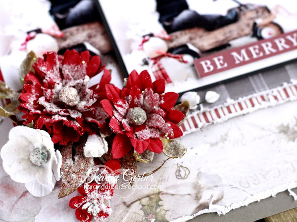 Be Merry - Creative Scrapbooker