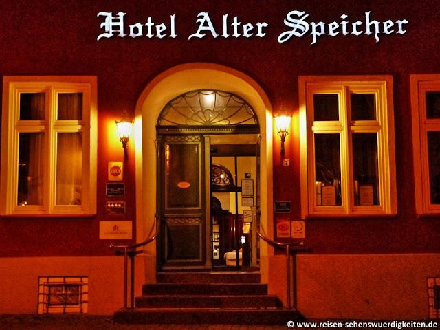 Hotel Alter Speicher Wismar, Wismar Altstadt