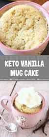 Keto Vanilla Mug Cake