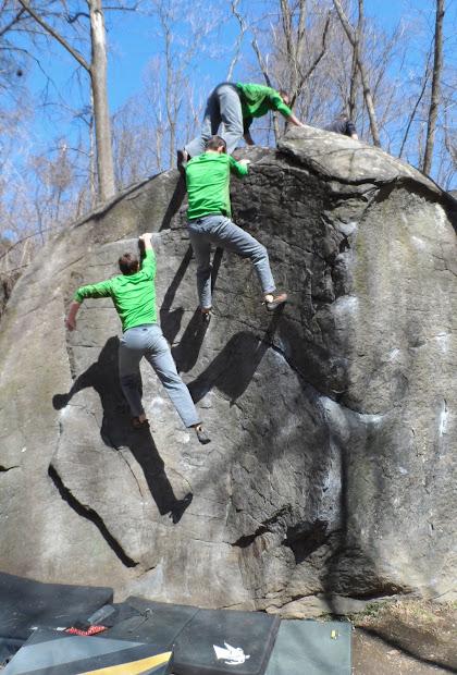 Liberty Mountain Climbing Pennsylvania Bouldering Retreat Governor Stable