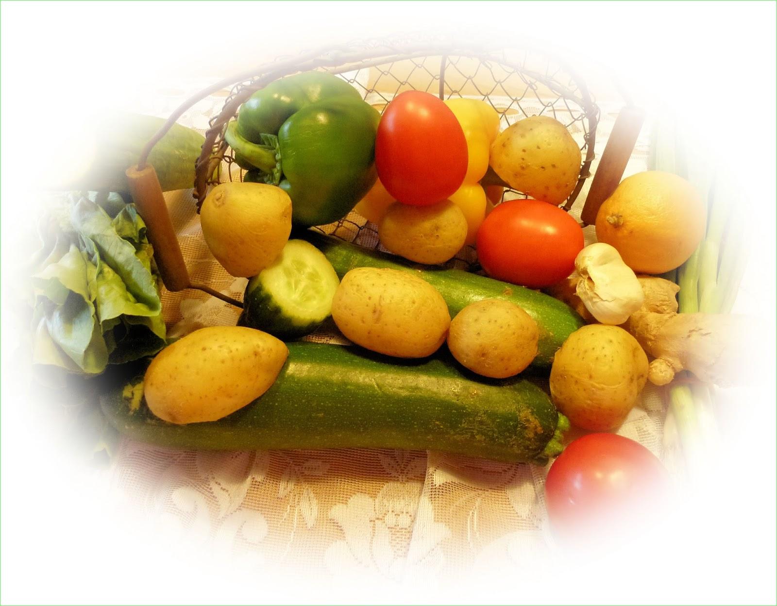 creativs & texte Zu viel Gemüse im Kühlschrank