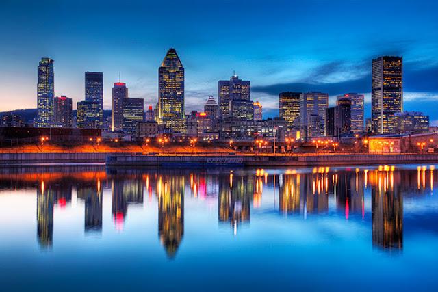 Lua de mel em Montreal