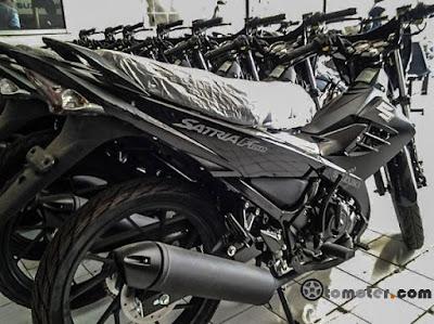 Harga Satraia FU Black Predator bekas, harga bekas motor suzuki satria f150, harga motor bekas satria FU
