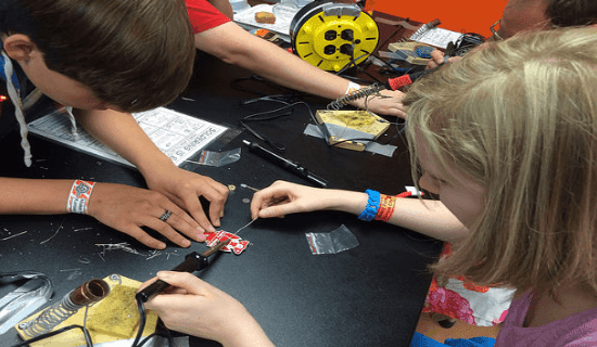 Hardware Shop Work spaces: Assisting Children to discover the ways to DIY