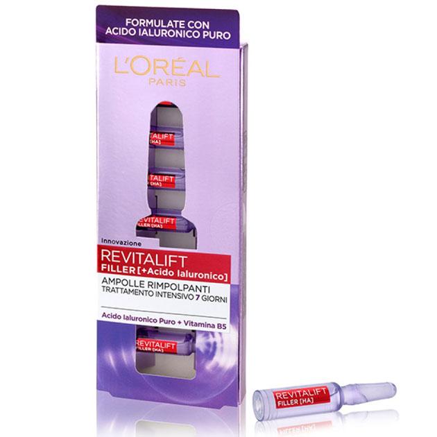 candidati come tester delle ampolle rimpolpanti L'Oréal