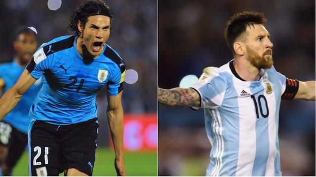 Ver Partido Argentina vs Uruguay EN VIVO Gratis Por Internet Hoy 31/08/2017
