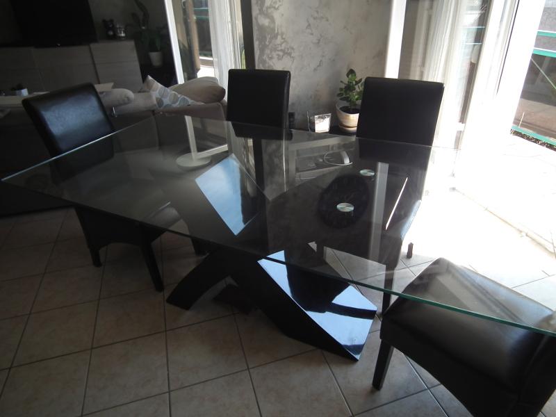 Célèbre Relooker une table en verre - Les Lubies de Caroline GH64